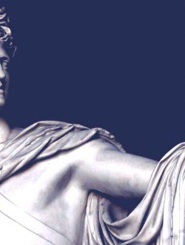 Apollo god from Hyperborea