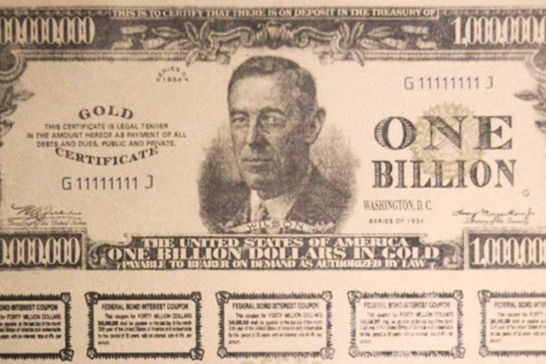 Bearer bonds scheme