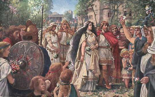 Kriemhild and Siegfried