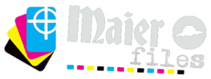 Maier files printshop logo