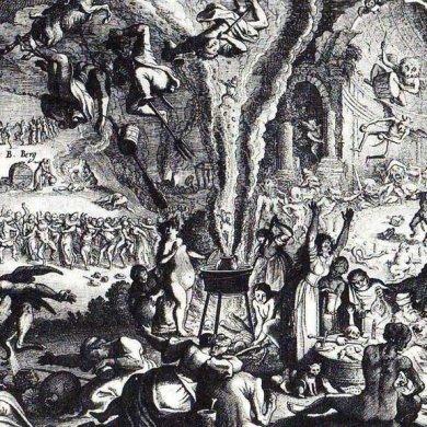 Walpurgisnacht engraving