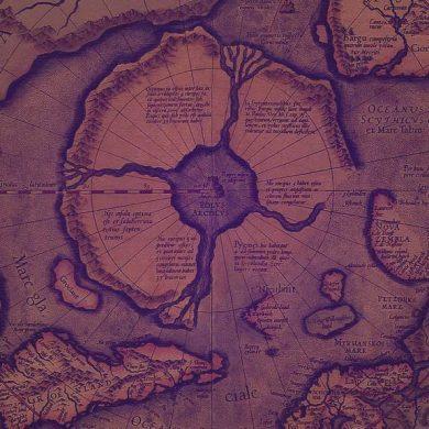 Thule - Hyperborea map