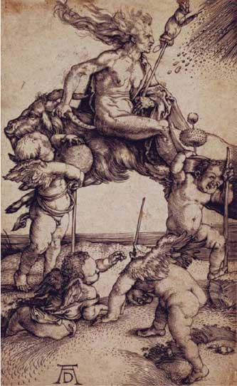 witch by A. Duerer