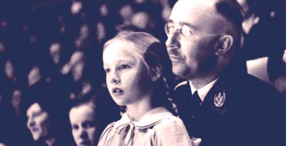 Heinrich Himmler and daughter