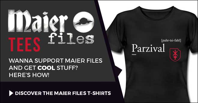 T-shirt Parzival Maier files