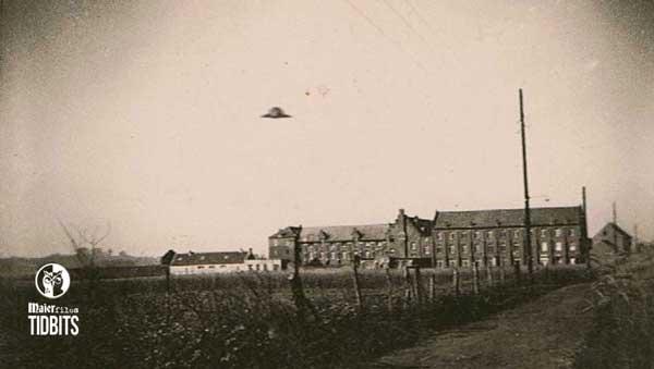 UFO Liedekerke 1946 field propulsion saucers