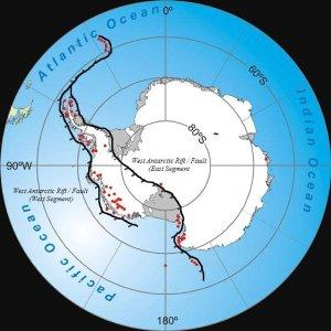 Antarctica Rift