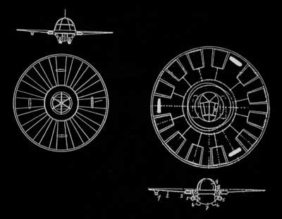 flying saucer project drawings