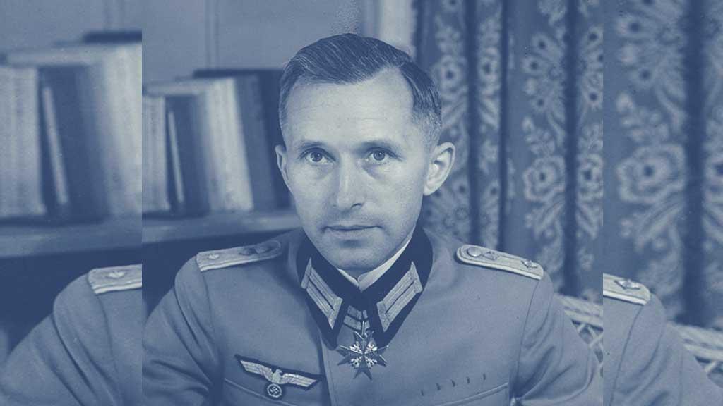 portrait Ernst Jünger