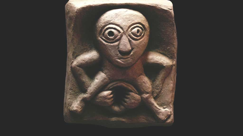 Sheela na Gig carving