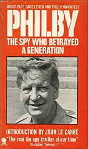 "book cover ""Philby: The spy who betrayed a generation"