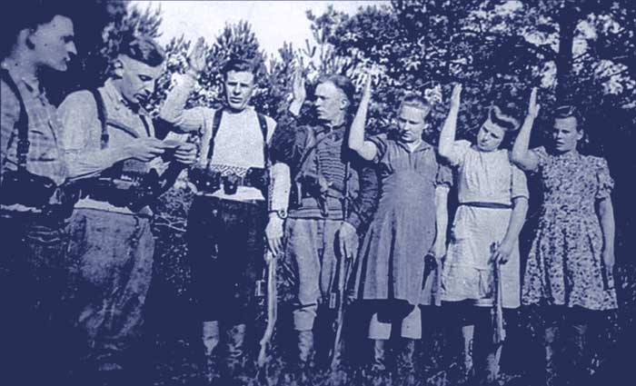 Lithuania - resistance fighters