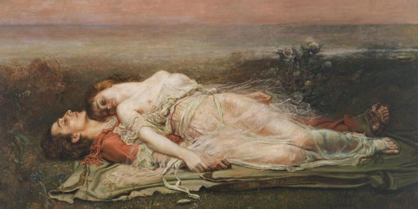 Tristan and isolde painting Rogelio